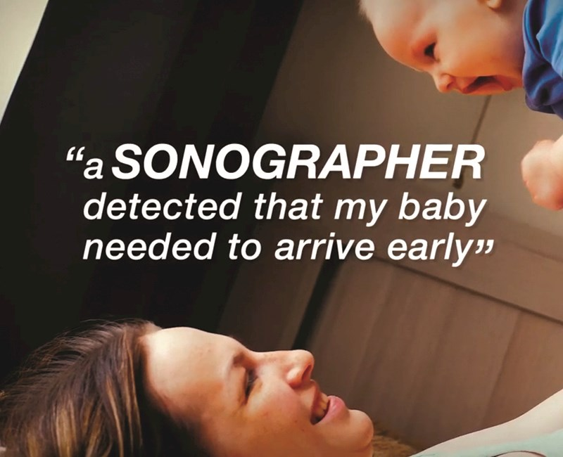 Sonographer Awareness campaign